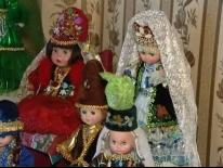 Татарские куклы семьи Хафизовых