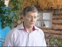 Встреча поэта Ирека Сабирова с жителями деревни Аптряково