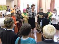 В школе д. Уфа Шигири уделяется особое внимание сохранению татарской национальной культуры