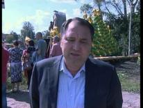Открытие Монумента шахтерам в городе Березовском
