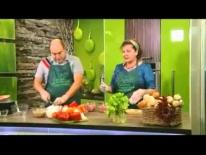 Готовим Фаршированные перцы с Еленой Скобельциной