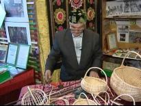 Мастер плетения корзин села Арасланово- Салих Хатавов