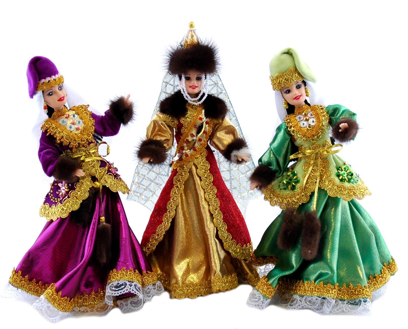 Куклы своими руками в татарском костюме