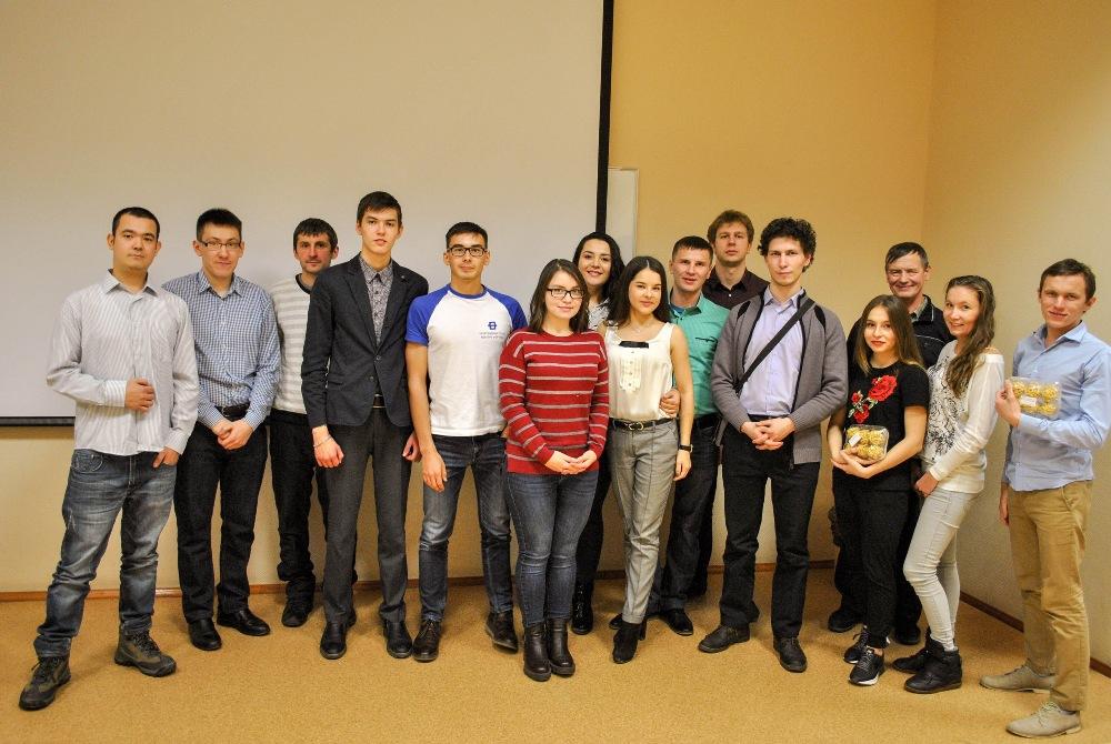Татарские студенты Уральского федерального университета