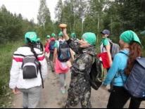 Приключения участниц конкурса Татар Кызы 2014 на сплаве