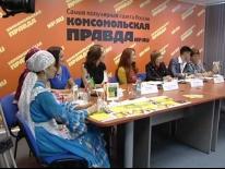 Пресс конференция конкурса Татар Кызы 2014